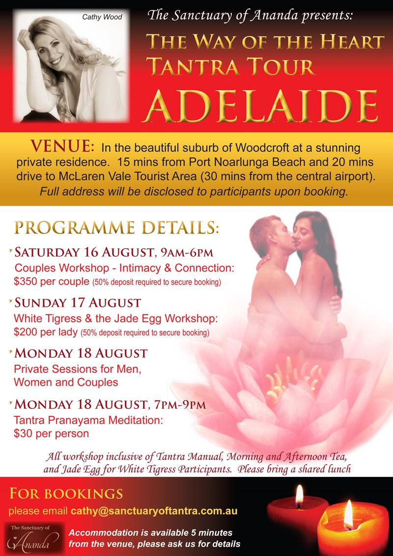 liveshow adelaide tantric massage